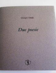 Giorgio Orelli, <em>Due poesie</em>, Il Ragazzo innocuo, 2015
