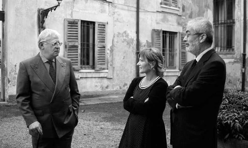con Hans Tuzzi e Lucio Passerini-ph Alessia Bottaccio