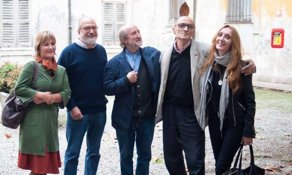 con Luciano Ragozzino, Alberto Casiraghy, Nicola Frangione, Betty Zola – scatto di Alessia Bottaccio