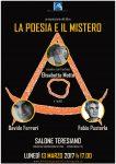 LA POESIA E IL MISTERO Locandina Pavia