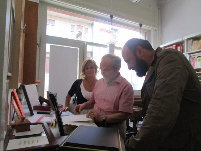 Elisabetta Motta, Josef Weiss, Davide Rondoni