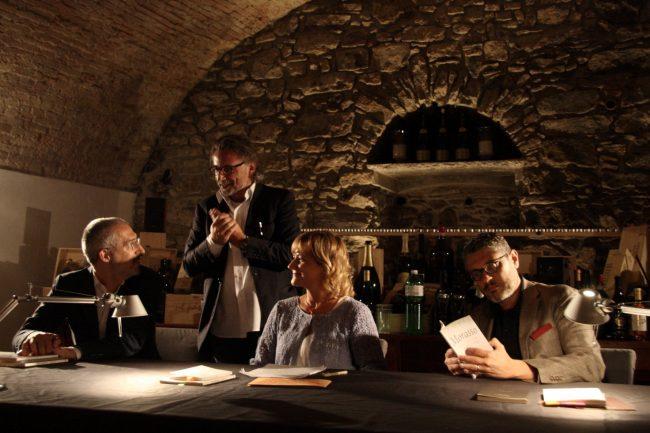 Massimo Morasso, Roberto Stoppa, Elisabetta Motta, Fabiano Alborghetti – incrocio poetico 4