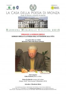 Mirabello Cultura 22 aprile 2016 Giorgio Orelli (clicca per PDF)