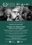 Tiziano Fratus 23 aprile 2017 Mirabello Cultura
