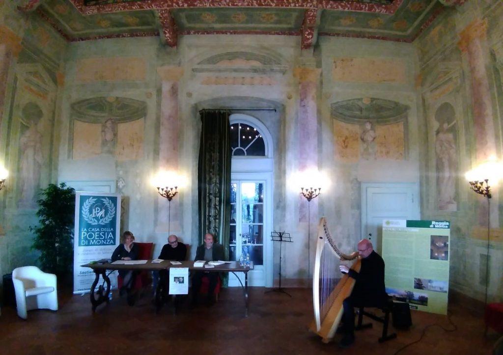 Elisabetta Motta, Giampiero Neri, Luciano Ragozzino, Vincenzo Zitello presso Villa Mirabello -Monza