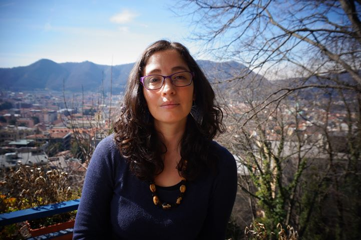 Ritratto di Mirna Ortiz a Como