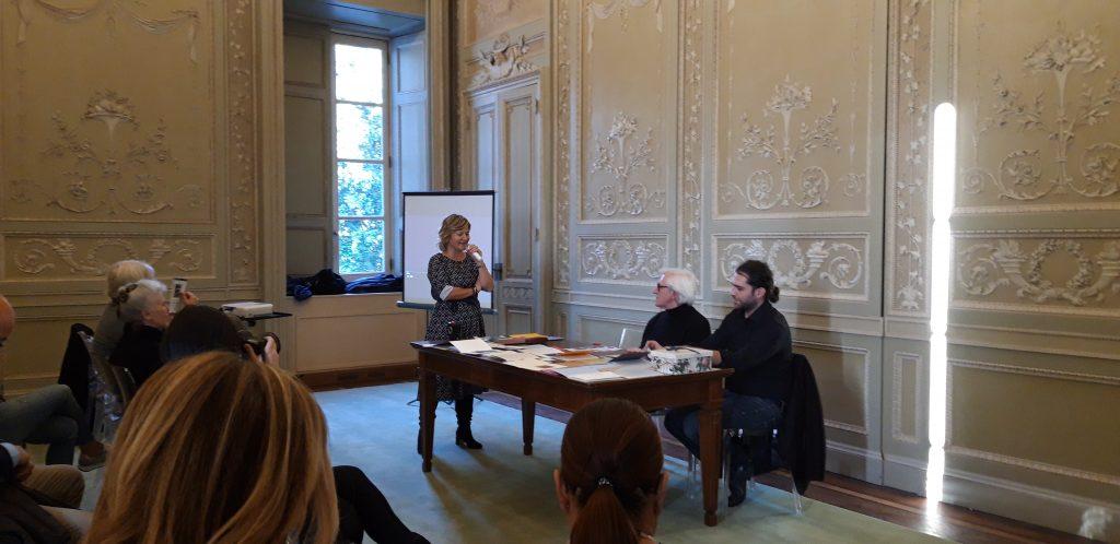 Elisabetta Motta, Adalberto Borioli, Davide Ferrari presso Villa Reale di Monza