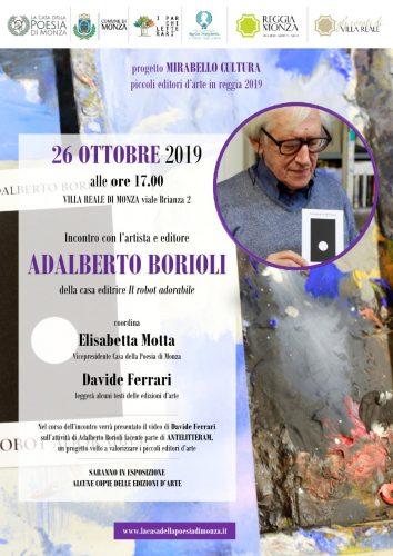 Locandina Adalberto Borioli