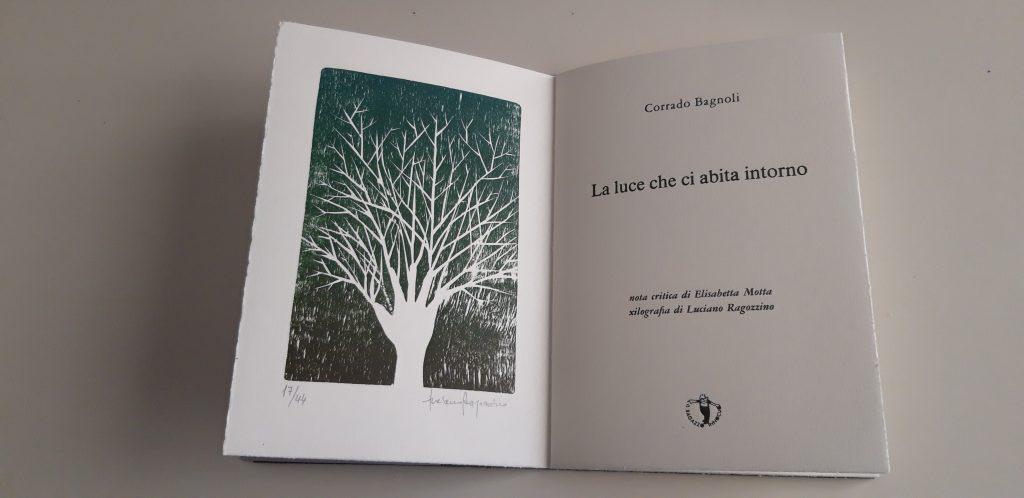 Xilografia di Luciano Ragozzino contenuta nel libro d'arte
