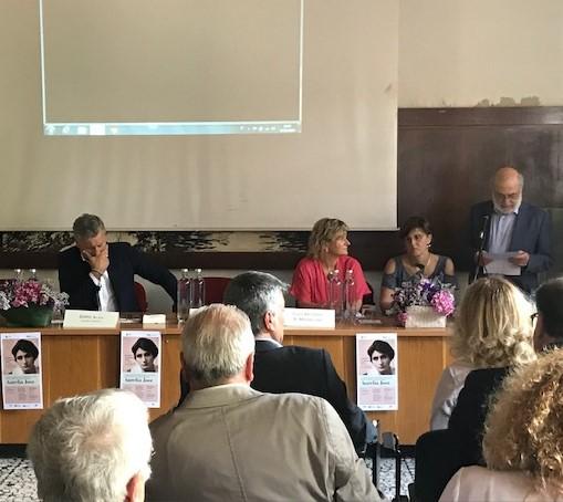 Cerimonia di dedicazione della scuola di Agraria ad Aurelia Josz