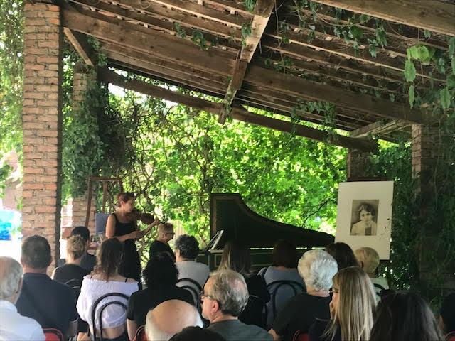 Concerto di Simonetta Heger pronipote di Aurelia Josz