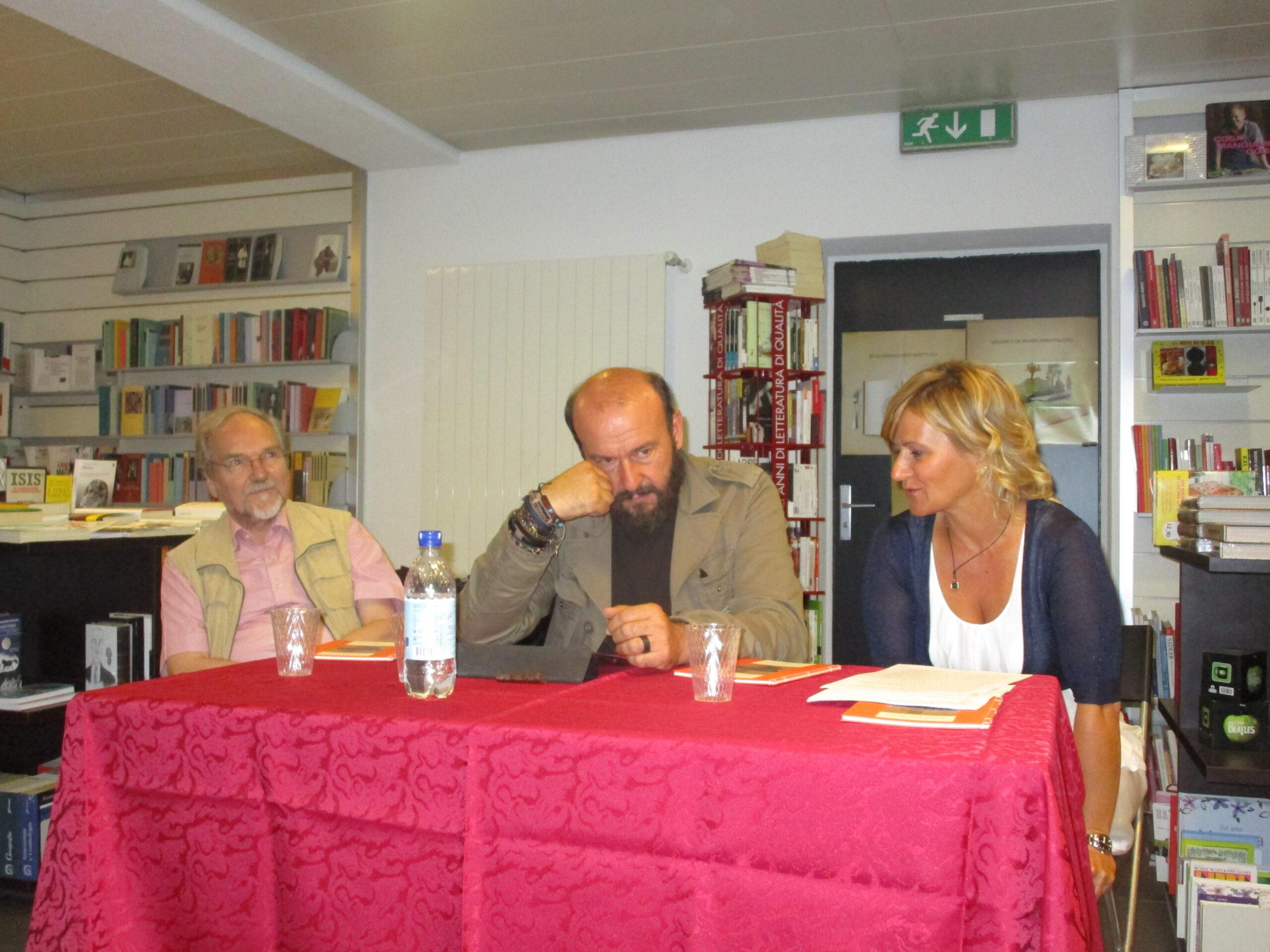 Josef Weiss, Davide Rondoni, Elisabetta Motta. Libreria Il Ponte -Mendrisio